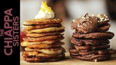 How To Make Italian Pancakes Waffle Recipes, Brunch Recipes, Dessert Recipes, Pancake Recipes, Desserts, Pancake Day, Breakfast Pancakes, French Toast Waffles, Brunch Casserole