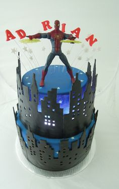 Spiderman Cake — Children's Birthday Cakes