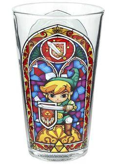 Link's Glass - Pintglas van The Legend of Zelda