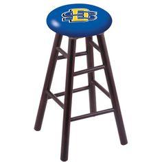 """Holland Bar Stool NHL 30"""" Bar Stool with Cushion Finish: Dark Cherry, NHL Team: South Dakota State University"""