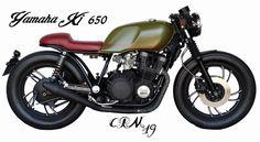 Yamaha xj 650 by cafe racer madrid, cafe racer, crm, cafe racer madrid,restauracion de moto, cafe racer españa, honda cb 650 brat style, caferacer, cafe racer, vintage motorcycle, restauracion de motos, motos clasicas, cafe racer madrid, vintage motorcycl