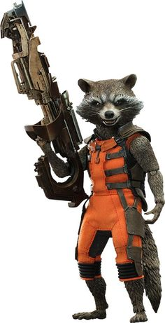 Guardians of the Galaxy Movie Masterpiece Action Figure 1/6 Rocket 16 cm - The Movie Store