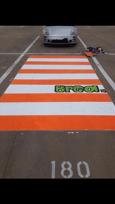 The movie Juno inspired parking spot for my senior year