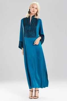 e25855addb2 Josie Natori Couture Divinity Caftan Ootd