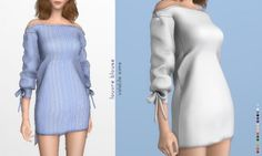Louvre Blouse by Volatile Sims for The Sims 4
