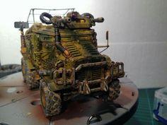 Warhammer 40k - Imperial Guard - Taurox done by Bas Dan - Spikey Bits