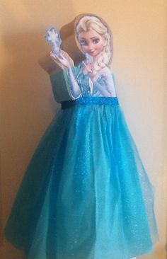 Frozen Pinata. Elsa Frozen piñata inspired. Frozen Birthday Party. Frozen decoration. Olaf frozen. Anna frozen. Frozen Birthday.
