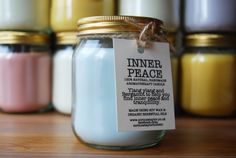 Natural Soy Aromatherapy candles, soaps and other products by CorinneTHolistic, a Brighton Etsy seller.
