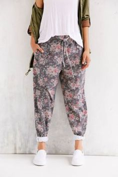 Pins And Needles Floral Sweatpant. Cute and cozy?? Sold!