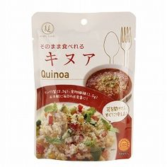 Quality quinoa produced in the Republic of Peru is heat packed at domestic plants and packed. As it is already cooked, you can use it as it is, mixed with rice, put in a salad or soup and various ways to use it.