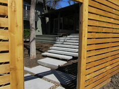 Floating Concrete Stairs Dallas by One Specialty Outdoor Living, via Flickr