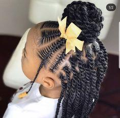 Little Girls Natural Hairstyles, Toddler Braided Hairstyles, Kids Curly Hairstyles, Toddler Braids, Protective Hairstyles, Little Girl Twist Hairstyles Black, Hairstyles For Black Kids, Children Braids, Children Hair