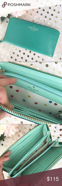 🆕Kate Spade wallet New retail Kate Spade wallet. Received as a gift so no tags. 10% bundle discount. Free beauty gift with $25 purchase. Free shipping with $75 purchase. Reasonable offers welcome. No trades. Bags Wallets