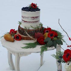 Sneak peek at today's photo shoot. It was an amazing day with a great group of ladies. I'm so glad I finally got to meet a few of you in person. @weddingautahbotanicaleden  @refinesvintageevents @bybethanybee @nataliefeltphotography #weddings #weddingcake #cake #seminakedcake #fruit #flowers #localflorist #utahbaker #photographer #styledshoot #utahweddings #utahbride #rusticwedding #winterwedding #letitsnow #eatcake #saltlakephotographer #slevents #wheelerfarms #weddingfurniture #sl…