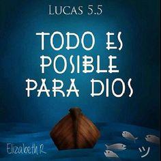 Para Dios todo es posible... Solo debes creer! ツ