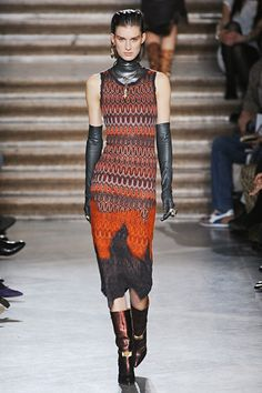 Missoni. Not that I'm saying that I'd actually wear this, but I kind of love it.