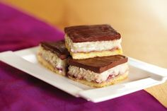 Raspberry Coconut Bars from Food.com:   								.