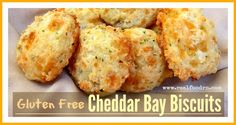 Gluten Free Cheddar Bay Biscuits - Real Food RN