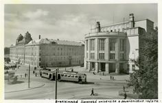 Bratislava, Old Street, Taj Mahal, Louvre, Building, Times, Travel, Geo, Squares