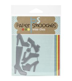 Shoes - paper Smooches Die