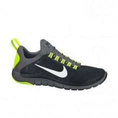 nike free trainers 5.0 black grey yellow