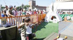 #sport - #salute - Fotoreportage della terza tappa di OVS Kids Active Camp, Roma, 05 ottobre