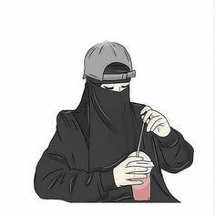 kumpulan anime muslimah bercadar keren - my ely Hijab Anime, Anime Muslim, Muslim Hijab, Hijab Niqab, Hijab Chic, Mode Hijab, Male Character, Fantasy Character, Cartoon Kunst