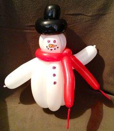 Balloon Snowman.