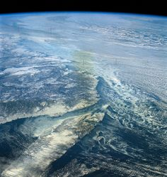 North Atlantic coast of Canada as seen from Skylab by NASA: 2Explore, via Flickr