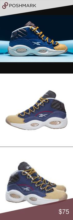 Reebok Question Mid Iverson Dress Code Shoes Sz 8 *PLEASE READ ENTIRE DESCRIPTION AND VIEW ALL PICTURES BEFORE PLACING YOUR BID. THANK YOU.   *100% AUTHENTIC AND SATISFACTION GUARANTEED! NO FAKES! NO VARIANTS!   *All item(s) are shipped within 24-48 hours after payment received(excluding weekends and holidays.)   *PET AND SMOKE-FREE HOUSE!  *SERIOUS BUYERS ONLY PLEASE!   *New with tags but no box  *MESSAGE ME ANY QUESTIONS YOU MAY HAVE.   *SAVE ME AS A FAVORITE SELLER!!! CHECK MY OTHER…