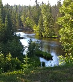 North Branch of the Ausable River, Lovells, Michigan