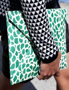 Fashion Week Street Style Trend: Power Prints | ELLE UK