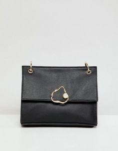 6453709f831 ASOS DESIGN abstract pearl shoulder bag Asos