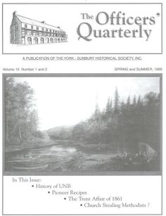 British Military Compound, Julia May Walker, Taymouth, the Trent Affair, Elizabeth Secord, Education, Recipes and Collecting