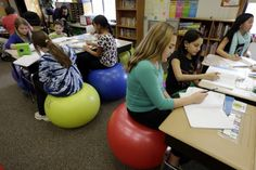 Letting kids move in class isn't a break from learning. It IS learning. - The Washington Post