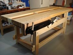 21st Century Workbench - by Jarrhead @ LumberJocks.com ~ woodworking community