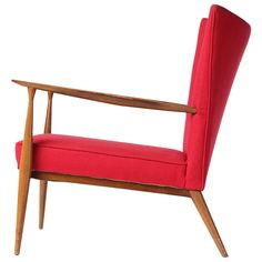 Lounge Chair by Paul McCobb | From a unique collection of antique and modern lounge chairs at https://www.1stdibs.com/furniture/seating/lounge-chairs/