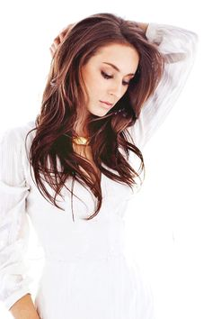 Troian Bellisario-- soooooo gorgeous!! White is such a beautiful, bright, pure color. Really brings out anyone's features :)