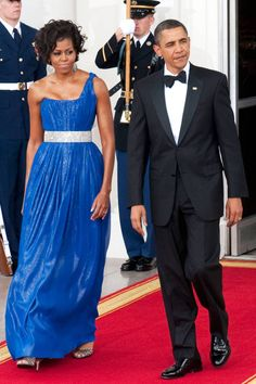 Happy 50th Birthday Michelle Obama! Click to see her best 50 dresses ever.
