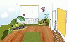 Kinderkamer Van Mokkasin : 20 najlepších obrázkov z nástenky detská izba kleiner maulwurf