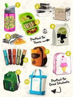 And for the eco-friendly lunch boxes...Top 20 Eco-Friendly School Supplies - Checklists - Honestly... The Honest Company Blog