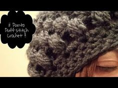 Gorro de ganchillo Tutorial / Crochet Hat Puff Stich