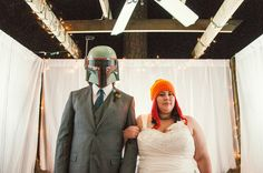 """Wedding photography that's """"a little nerdy and a lot laid back"""" from Atlanta's YouAreRaven"""