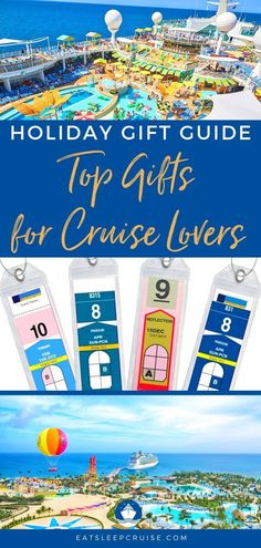 Top 25 Cruise Gift Ideas for Do you know someone who loves to cruise? Get them the perfect gift for their next voyage with these expert suggestions. Packing List For Cruise, Cruise Tips, Cruise Travel, Cruise Vacation, Vacations, Vacation Ideas, Cruise Excursions, Cruise Destinations, Caribbean Cruise Ships