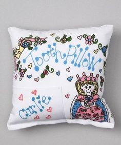Personalized Princess Tooth Fairy Pillow
