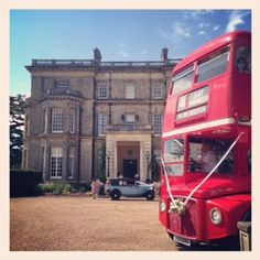 A beautiful day for a wedding at Hedsor House!