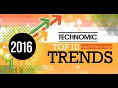 Technomic releases its 10 Food Trends for 2016, forecasting all the major forces transforming the restaurant and food industries