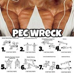 Pec Wreck - Hardcore Chest Training Plan