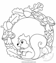 Fruit Coloring Pages, Spring Coloring Pages, Colouring Pages, Coloring Pages For Kids, Coloring Books, Garden Crafts For Kids, Fall Crafts For Kids, Art For Kids, Autumn Crafts