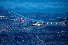 The Solar Plane Completed His Epic Circumnavigation Flight